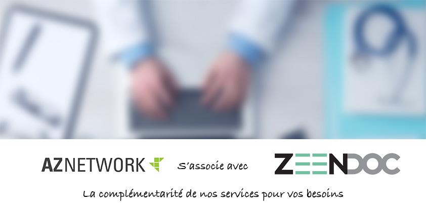 Le Partenariat Aznetwork Zeendoc Aznetwork