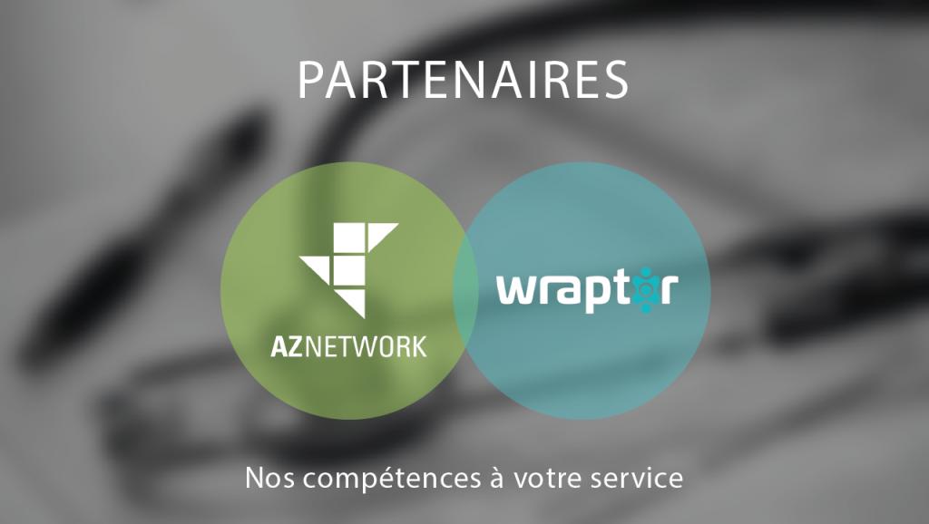AZNETWORK : Partenaire de Wraptor pour la MSS