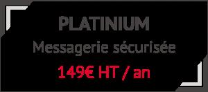 AZNETWORK - Offre messagerie cryptée Platinium