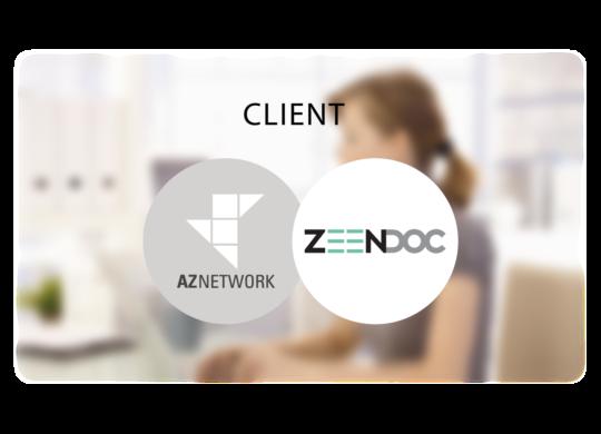 AZNETWORK - Témoignage Client Zeendoc