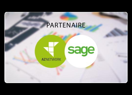 AZNETWORK : Partenaire de SAGE